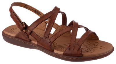 B.\u00d8.C. Truro Twin Gore Shoes for Ladies Tan 10M