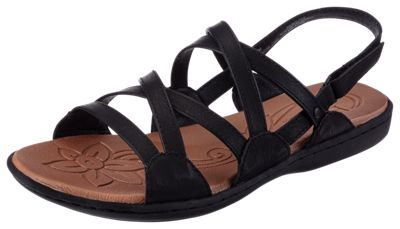 B.\u00d8.C. Truro Twin Gore Shoes for Ladies Black 7M