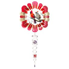 Spinfinity Designs Cardinals Mini Wind Spinner Image