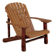 Old Hickory Furniture Adirondack Chair with Paddle Arms