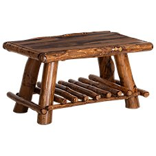Mountain Woods Furniture Rustic Lodge Coffee Table