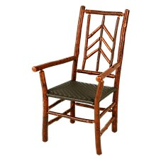 Old Hickory Furniture Smoky Mountain Furniture Collection Brown Side Chair