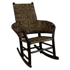 Old Hickory Furniture No. 67 Grove Park Rocker Wicker Rocking Chair