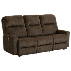Best Home Furnishings Kenley Furniture Collection Power Reclining Space Saver Sofa