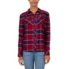Natural Reflections Flannel Long-Sleeve Shirt for Ladies Image