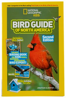 Image of National Geographic Kids Bird Guide of North America Book by Jonathan Alderfer
