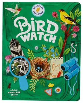 Image of Backpack Explorer Bird Watch What Will You Find? Book for Kids