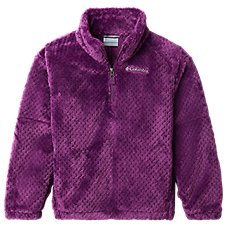 Columbia Fire Side II Sherpa Half-Zip Pullover for Girls Image