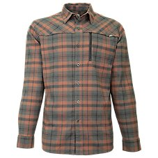 Ascend Performance Flannel Long-Sleeve Button-Down Shirt for Men Image