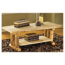 Mountain Woods Furniture Grizzly Furniture Collection Coffee Table