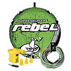 Airhead Rebel Towable Tube Kit with 12V Pump and Tow Rope Image