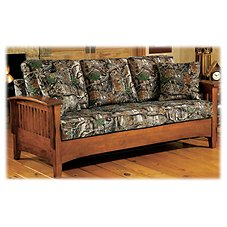 Best Home Furnishings Westney Sofa with Sleeper in Seclusion 3D Camo