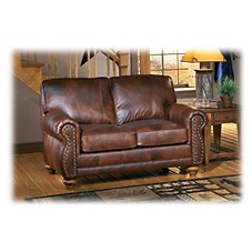 Best Home Furnishings Osmond Furniture Collection Stationary Love Seat