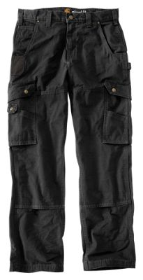 50% off authentic quality new appearance Carhartt Cotton Ripstop Pants for Men Black 32x34