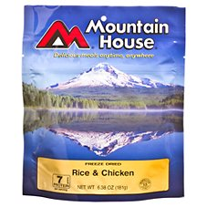 Mountain House Freeze Dried Rice & Chicken Entree