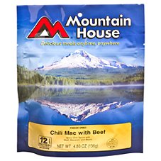 Mountain House Freeze Dried Chili Mac with Beef Entree