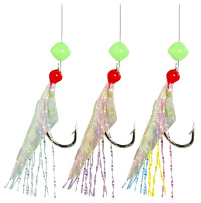 Hayabusa Mixed Yarn Sabiki Hot Hook Bait Rig