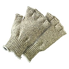 Fingerless Ragg Wool Fly Fishing Gloves for Men