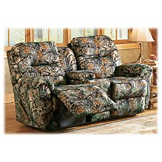 Best Home Furnishings Bodie Camo Reclining Love Seat with Console