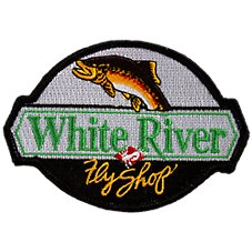 White River Fly Shop Patch
