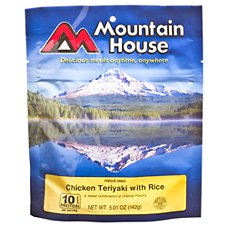 Mountain House Freeze Dried Chicken Teriyaki with Rice Entree