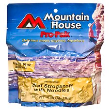 Mountain House Freeze Dried Beef Stroganoff with Noodles Entree