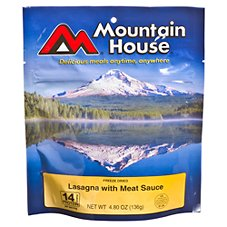 Mountain House Freeze Dried Lasagna with Meat Sauce Entree