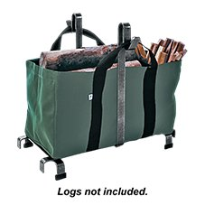 Enclume Fireplace Log Rack with Carrier Bag