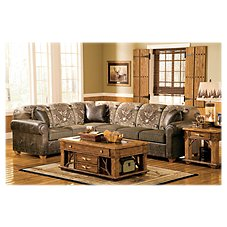 Marshfield Whitetail Ridge Furniture Collection Sectional Sofa