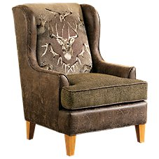 Marshfield Whitetail Ridge Furniture Collection Wing Chair