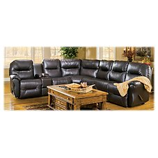 Best Home Furnishings Bodie Leather Sectional