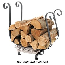 Enclume Handcrafted Sleigh Large Fireplace Log Rack
