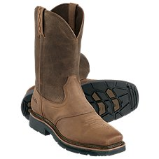 Cabela's Pinedale Square-Toe Western Work Boots for Men Image
