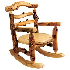 Mountain Woods Furniture Grizzly Rocking Chair