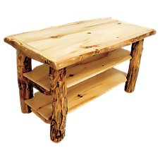 Mountain Woods Furniture Grizzly Furniture Collection TV Stand