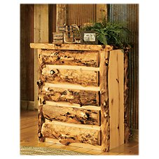 Mountain Woods Furniture Grizzly Five-Drawer Chest
