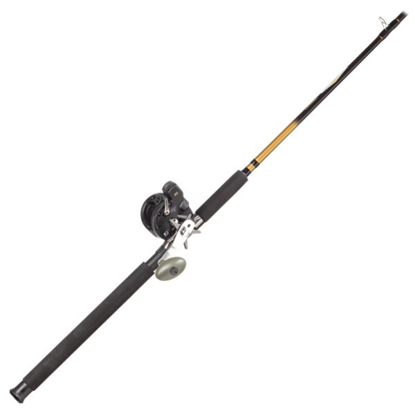 Cabela's DepthMaster III Trolling Rod and Reel Combo - DMTR-86ML-15B thumbnail
