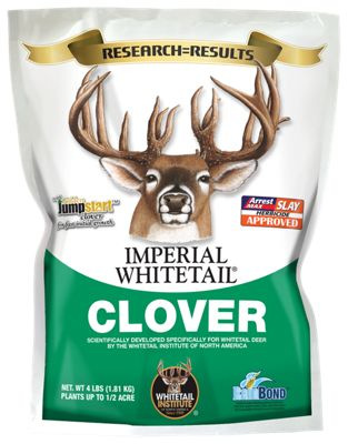 Imperial Whitetail Clover Wild Game Seed – 4 lb. Bag