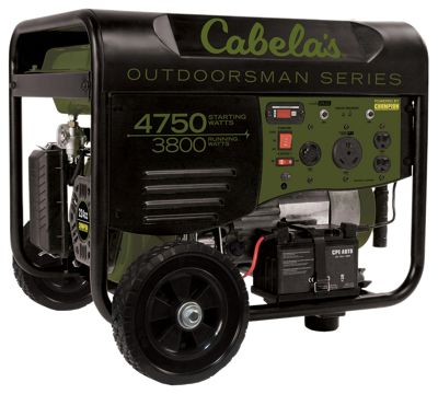 Cabela's Outdoorsman 3800/4750-Watt Generator with Remote Start by Champion