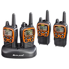 Midland Outfitter Quad Pack 2-Way Radios 4-Pack