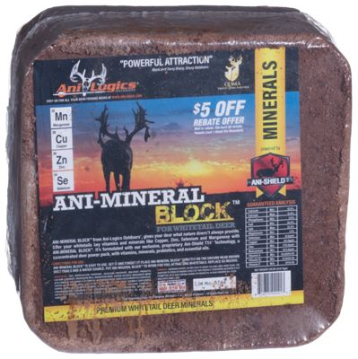 Ani-Logics Ani-Mineral Block Nutritional Supplement for Deer thumbnail
