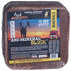 Ani-Logics Ani-Mineral Block Nutritional Supplement for Deer