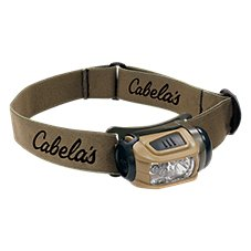 Cabela's by Princeton Tec Alaskan Guide RGB Headlamp