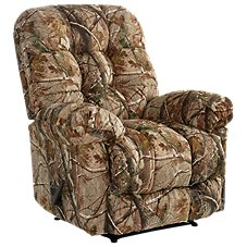 Best Home Furnishings Outdoorsman Max Furniture Collection Heat and Massage Rocker Recliner
