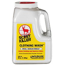 Scent Killer Powder Clothing Wash