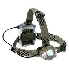 Cabela's by Princeton Tec Alaskan Guide XP Green Headlamp