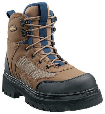 d2a1965e8db Cabelas Ultralight Lug Sole Wading Boots for Men BrownBlue 12M
