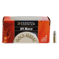 Federal Gold Medal Target Rimfire Ammo