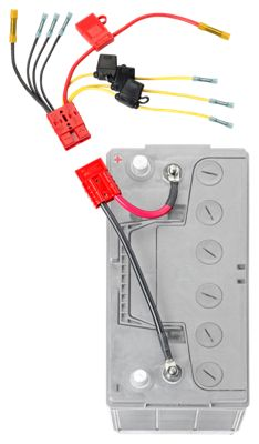 Connect-Ease 12V Multi Fused Connection Kit with 4 Fuses