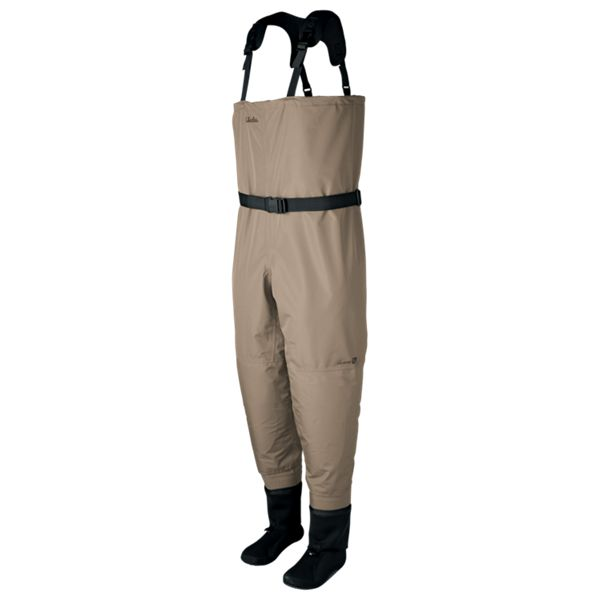 Cabela's Premium Breathable Stocking-Foot Fishing Waders for Men - Tan - 2XL Stout